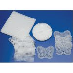 RVFM Plastic Canvas Assortment Pack of 20