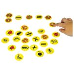 Ed Tech Plastic Bug Counters – Pack of 100+20 Symbols