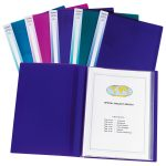 Snopake 12219 A4 Display Books. 24 Pocket. Pack of 10
