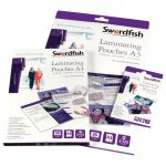 Snopake Swordfish A3 Laminating Pouches 150 micron (Pack of 50)