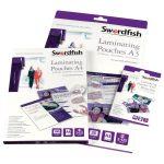 Snopake Swordfish A4 Laminating Pouches 250 micron (Pack of 100)