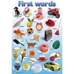 First Words Wall Chart
