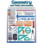 Geometry and Maths Instruments Wall Chart