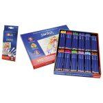 Swash Classbox 300 Premium Triangular Komfigrip Colouring Pencils
