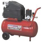 Sealey SA2415 Compressor 24ltr Direct Drive 1.5hp