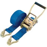 Draper 60952 8m x 50mm Heavy Duty Ratchet Tie Down Straps with Hooks