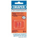 Draper 57631 Spare Bulbs (2) for Lanterns/torches