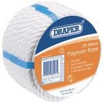 Draper 88198 20m x 12mm 3 Core Terylene Rope