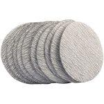 Draper 48206 75mm Aluminium Oxide Sanding Disc 400 Grit for 47617