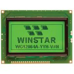 Winstar WG12864A-TMI-VN Graphic Display Negative Blue Mode 128 x 6…
