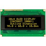 Winstar WEH002004ABPP5N00000 20×4 Blue OLED Character Display