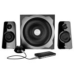 Trust 19020 Tytan 2.1 Subwoofer Speaker Set – Black