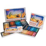 Inscribe IMPSF12 Soft Pastel Set 12 Colours Full Size