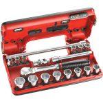 Facom JL.DBOX112PB 12 Point Metric Socket Set 3/8in Drive Detectio…