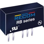 Recom 10016205 RB-0505S/E 1W DC/DC Converter SIP7 5V In 5V Out