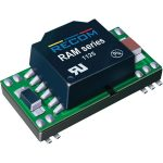 Recom 10015901 RAM-2405S/H DC/DC Converter 24V In 5V Out