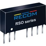 Recom International RSO-2415DZ/H3 DC/DC Converter 24V In 15V/15V Out