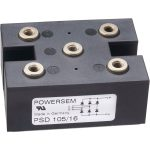 POWERSEM PSD 125-18 Three Phase Bridge Rectifier with Screw Termin…