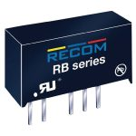 Recom International RB-2405D 1W DC/DC Converter SIP7 24V In 5V/5V Out