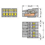WAGO 231-122/026-047 Female Standard 22P Pitch 5mm Pk10