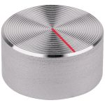 Mentor 521.6191 Aluminium Turning Knob – Setscrew – 12mm – Silver …