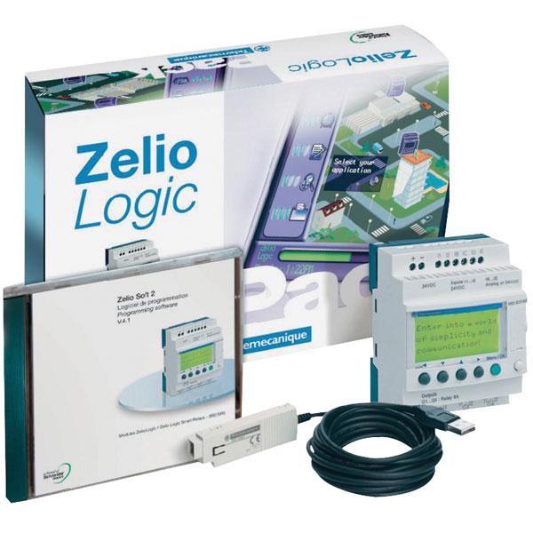 Schneider electric sr3packbd zelio plc starter kit for Schneider motor starter selection guide