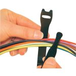 Fastech E1-1-330-B100 Hook and Loop Cable Tie 150mm x 13mm Black