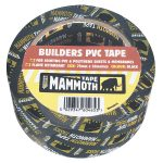 Everbuild 2BUILDBK75 Builders PVC Tape Black 75mm x 33m