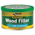 Everbuild 2PSUPLT3 Superlight 2 Part High Performance Wood Filler 370g