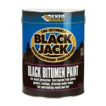 Everbuild 90101 Black Bitumen Paint 1 Litre