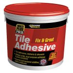 Everbuild FIX02 703 Fix and Grout Tile Adhesive 2.5 Litre