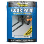 Everbuild FLOORGREY Floor Paint Grey 5 Litre