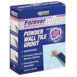 Everbuild FWPOWGROUT1 Forever White Powder Wall Tile Grout 1.2kg
