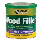 Everbuild 2POAK05 Wood Filler High Performance 2 Part Oak 500g