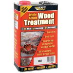 Everbuild LJUN05 Triple Action Wood Treatment 5 Litre