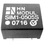HN Power SIM1-1512S-DIL8 DC/DC Converter 15V DC In, 12V DC Out 100mA