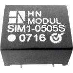 HN Power SIM1-1215D-DIL8 DC/DC Converter 12V DC In, (+-)15V DC Out 40mA