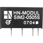 HN Power SIM2-0512D-SIL7 DC/DC Converter 5V DC In, (+-)12V DC Out 82mA
