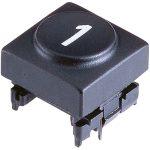 "Marquardt 826.002.011 Key Cap Button ""2"" for Series 6425 Anthracit…"