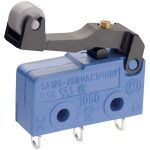 Marquardt 1050.6702 Microswitch 250V AC 5A SPDT Momentary Lever Faston