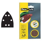 Flexovit 63642526409 Detail Hook and Loop Sanding Sheets 95 x 145mm …