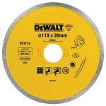 DeWalt DT3714-QZ Diamond Tile Blade 110mm x 20mm