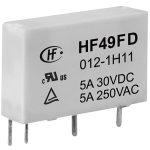 Hongfa HF49FD/005-1H12F PCB Mount Relay 5V DC SPST