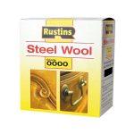 Rustins STEW0000 Steel Wool 150g Grade 0000