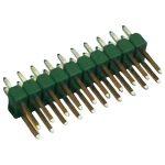 TE Connectivity 826656-2 Ampmodu II Short Pin Header Gold 2 x 2P Green