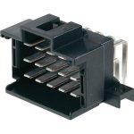 TE 9-966140-2 MCP Tab Header PCB Mount Right Angle 3.5mm Pitch Tin…