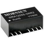 Mornsun WRA0512S-3WR2 3W Dual O/P SIP Regulated Isolated DC Conver…