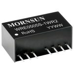 Mornsun WRE4812S-1WR2 1W Dual O/P SIP Regulated Isolated DC Conver…