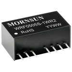 Mornsun WRF2412S-1WR2 1W Single O/P SIP Regulated Isolated DC Conv…