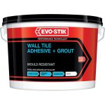 Evo-Stik 416536 Mould Resistant Wall Tile Adhesive and Grout 5 Litre